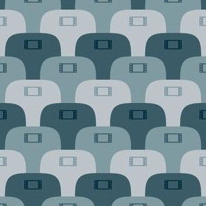 03909541 : film noir movie cinema seats