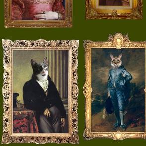 Pet Portrait Gallery - Large - Moss