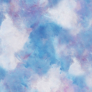 Cloudy sky abstract design