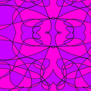 Pink and Pruple Abstract