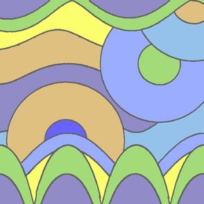seashore_Pucciesque_blues_green_tan_purple