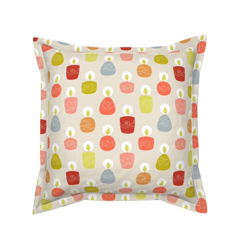 Serama Throw Pillow featuring candlespink by stephdevino