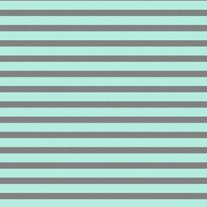 Gray and Aqua Stripes Vintage