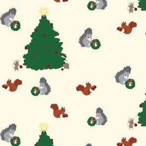 Festive Winter Animals