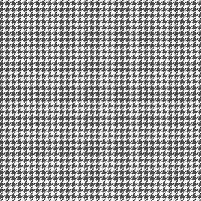 houndstooth tiny dark grey