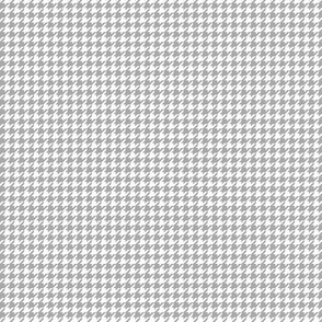 houndstooth tiny grey