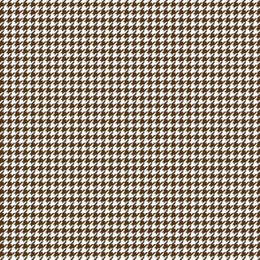 houndstooth tiny brown