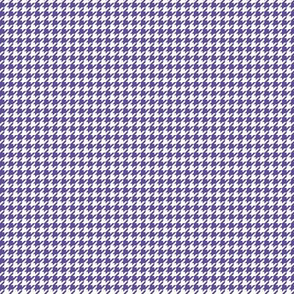 houndstooth tiny purple