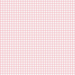 houndstooth tiny light pink