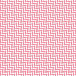 houndstooth tiny pretty pink