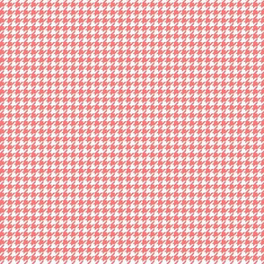 houndstooth tiny coral