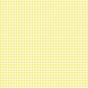houndstooth tiny lemon yellow