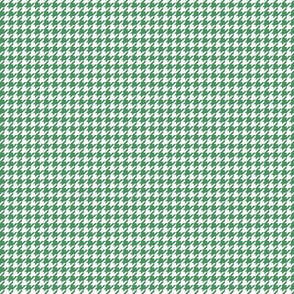 houndstooth tiny kelly green