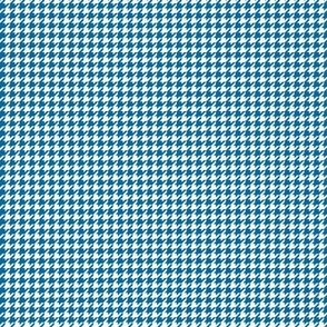 houndstooth tiny royal blue