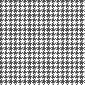 houndstooth dark grey