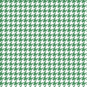 houndstooth kelly green