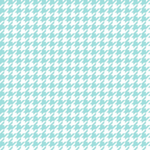 houndstooth light teal