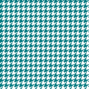 houndstooth dark teal
