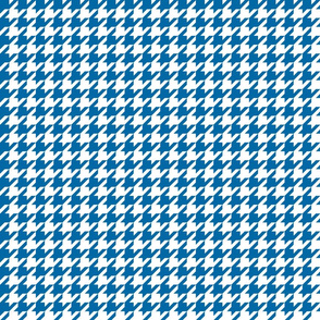 houndstooth royal blue