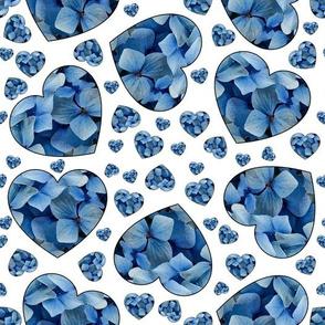 Hearts full of blue