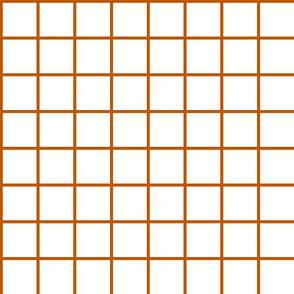 Spiced Pumpkin and White ~ Grid