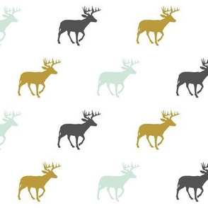 Multi Deer (small scale) // Woodland Collection