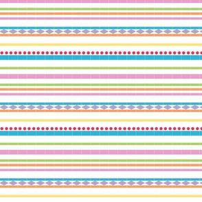 Blocked Stripes