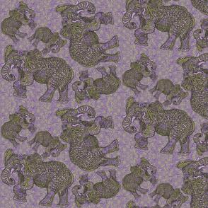 ELEPHANTS_grn_purp_swirls