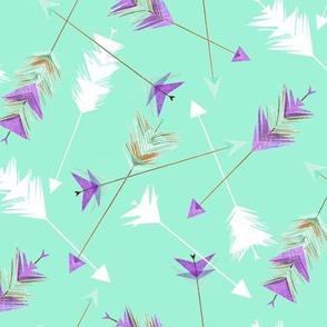 Paper Arrow - Mint Large