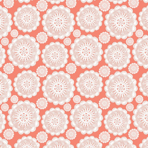 Coral Doilies