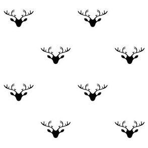 Deer heads (dark blue)