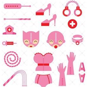 dominatrix in pink