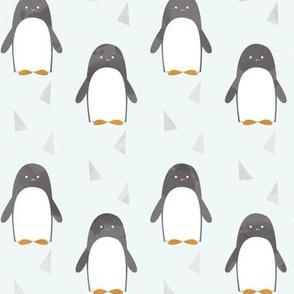 Ice Cold Penguins - Blue