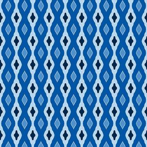 Stocking Stitch - Winter Blues a