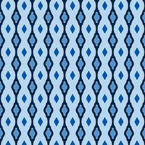 Stocking Stitch - Winter Blues b