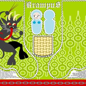 Krampus Stocking