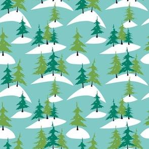 Alpine Tree Forest (Daffy)
