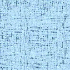 barkcloth in pale summer blue