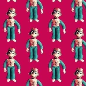 Monkey See. Monkey Do. Red