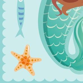 mermaid plushie