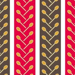 03966651 © herringbone spoon stripe