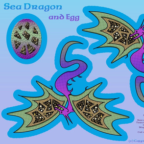 Sea Dragon and Egg