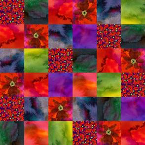 Poppy patchwork