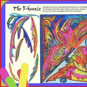The Phoenix : Mythical Creature Plushie
