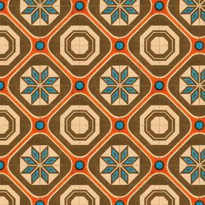 Starburst Tile ~ The Coral Sea Coordinate