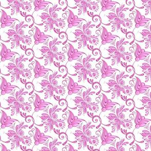 Purple Pretties- Small- White Background- Flower Bud Designs