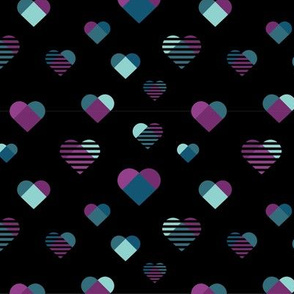 Graphic Hearts