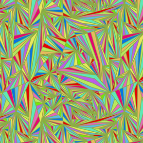 013 prismatic colour green