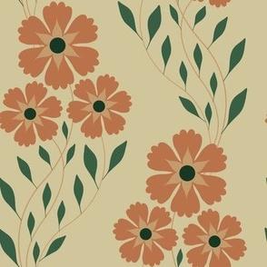 Flower zigzag