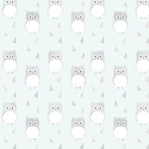 Ice Cold Owls - Blue - Small Scale